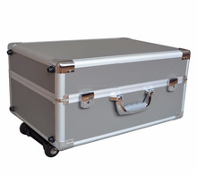 Aluminum Case/Box with Trolley Handle