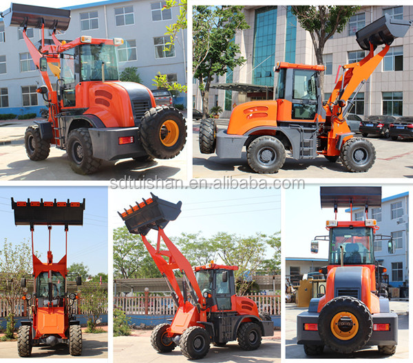 small agricultural machinery,cheap articulated farm tractor with front end loader for sale