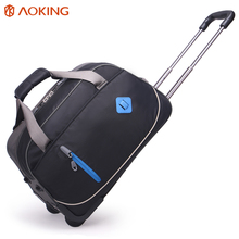 high capacity rolling carry on travel trolley luggage waterproof travel luggage bags
