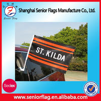 Outdoor Car Window Decoration Plastic Pole Car flags