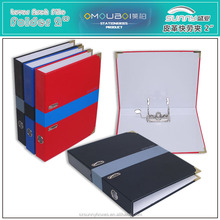High Quality A4 Leather 2 Inch Ring Lever Arch File Folders