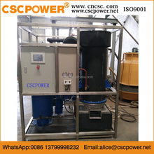 1ton commercial ice tube machine with stainless steel tube for Oman
