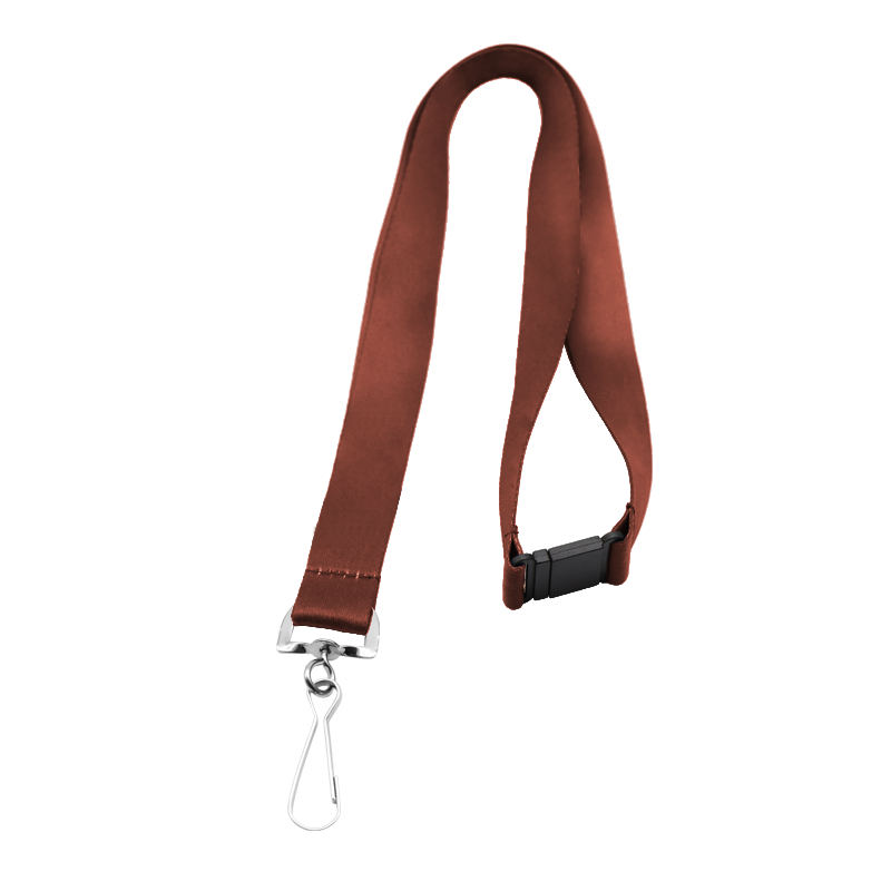 Smooth Polyester Sublimation Retractable Tool Lanyard