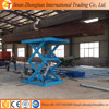 Stationary scissor lift table, hydraulic lift table for Germany with CE ISO