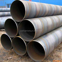 SPIRAL RUBBER COATED STEEL PIPE