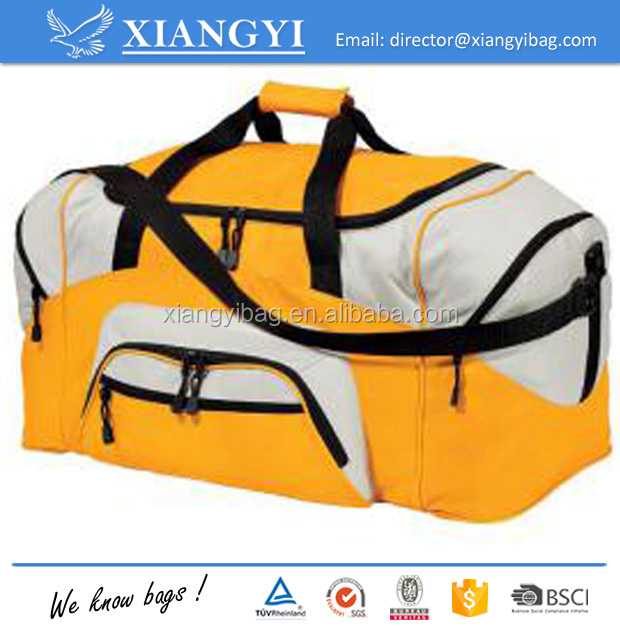 Sports bag gym bag duffle trolley bag for pinic and travel