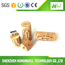 Novelty gift customized wooden usb thumb drive Cylindrical shape u disk usb flash drive 8g16g