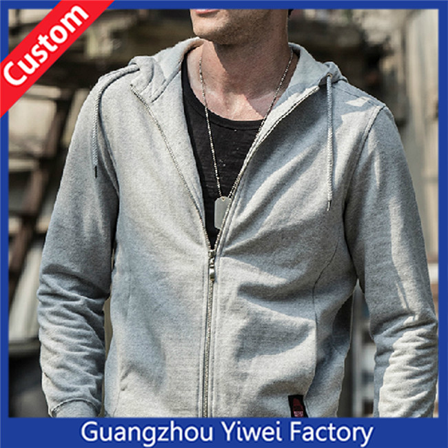 High quality wholesale 100% cotton custom hoodie sweaters plain hoodie stringer