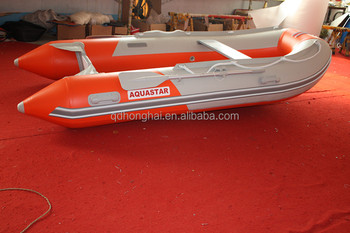 CE Certificate Aluminum Floor High Speed Inflatable HH-S300 Boat