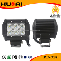18W CRE-E led light bar ,4 inch led bar off road 4x4 car accessories