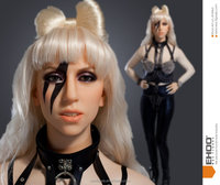 Life Size Silicone Famous Celebrity Wax Figure Doll Lady Gaga Doll
