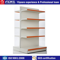 Good quality new style normal back panel supermarket gondola shelf fast delivery