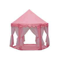 Princess Baby Girls Kids Beach Tent Children Play Castle CampingTent Indoor Tent