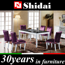Modern dining room table / dining room table parts / off white dining room furniture A-35