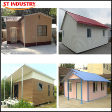 Portable quick assembly sandwich panel economic prefabricated houses
