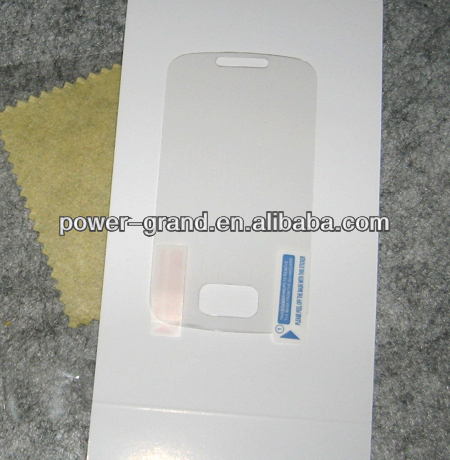 High clear screen protector for Samsung Galaxy Pocket S5300