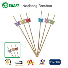 Eco-friendly Bamboo Flower Picks Bamboo Colorful Daisy Picks