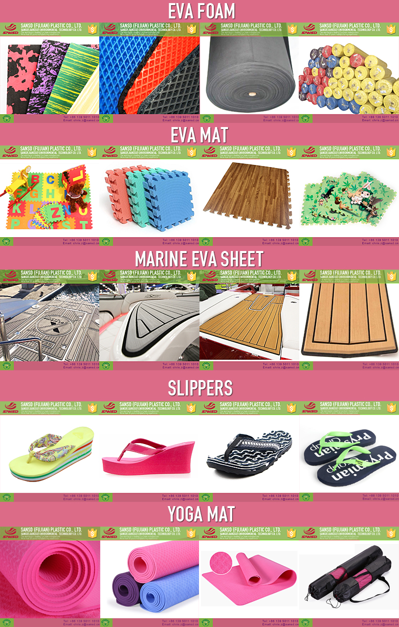 colorful OEM closed cell eva foam sheet shoes sole material