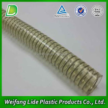 Popular Flexible Plastic Tube Spiral Wire PVC Hose Pipe