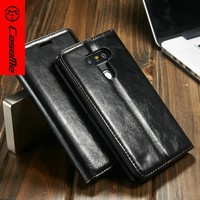 For LG G5 Wallet Leather Case,For LG G5 Wallet Leather Case Strong Magnet CaseMe High Quality Cover