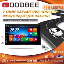Double Car Stereo with High Quality Capacitive Touch screen