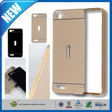 C&T Luxury Bumper Ultra-thin All Metal Aluminum Hard Frame Back Cover Case For Dazen F1