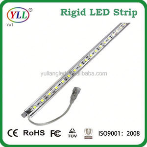 low power smd5050 dimmable rigid led strip 12v smd led bar waterproof aquarium led bar