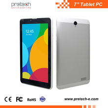 Extra slim 7 inch tablet 3g wcdma android tablet pc mediatek 8321 quad core