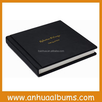 leather cover promotion flush mount wedding photo albums