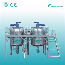 Alibaba china industrial Detergent Liquid Dishwashing Soap Homogenizing Mixer Mixing blending Machine