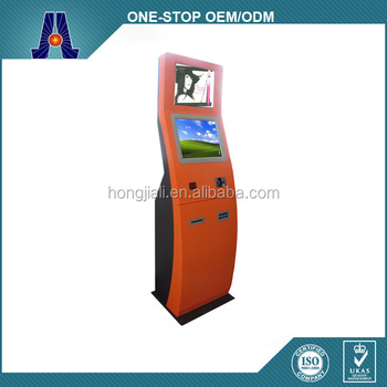 dual screen payment kiosk machine that accept cash and coin (HJL-3310)