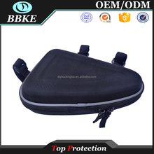 Fashion Practical Bicycle Trunk Pannier Bike Rear Carrier Bag Pack Impact Resistance and Tear-resistant Black