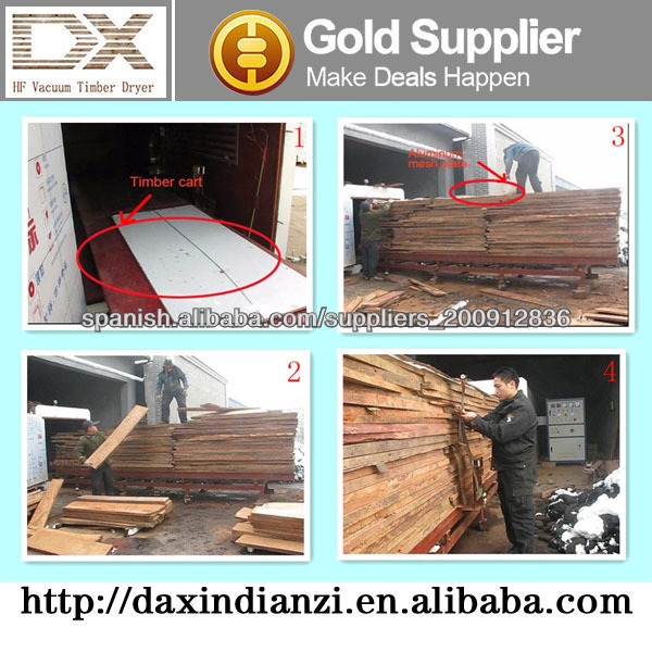 high frequency vacuum wood drying tank
