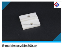 customized white Plastic clip making by injection mould for fixing the saw on the lathe