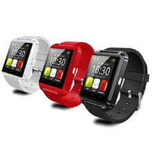 Factory cheapest 1.44inch Bluetooth Android smart watch phone U8 DZ09 GT08 A1