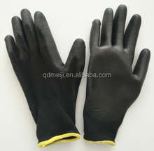 PU coated nylon work gloves for electronic industry manufacturer factory