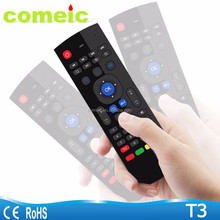 T3 IR Learning function 2.4ghz fly air mouse wireless remote for smart tv