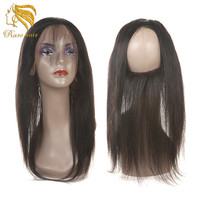 Lsy 2017 High Quality Glueless 360 Lace Frontal Closure Wigs 100% Human Hair