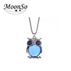 2016 Fashion Jewelry Owl Pendant Power