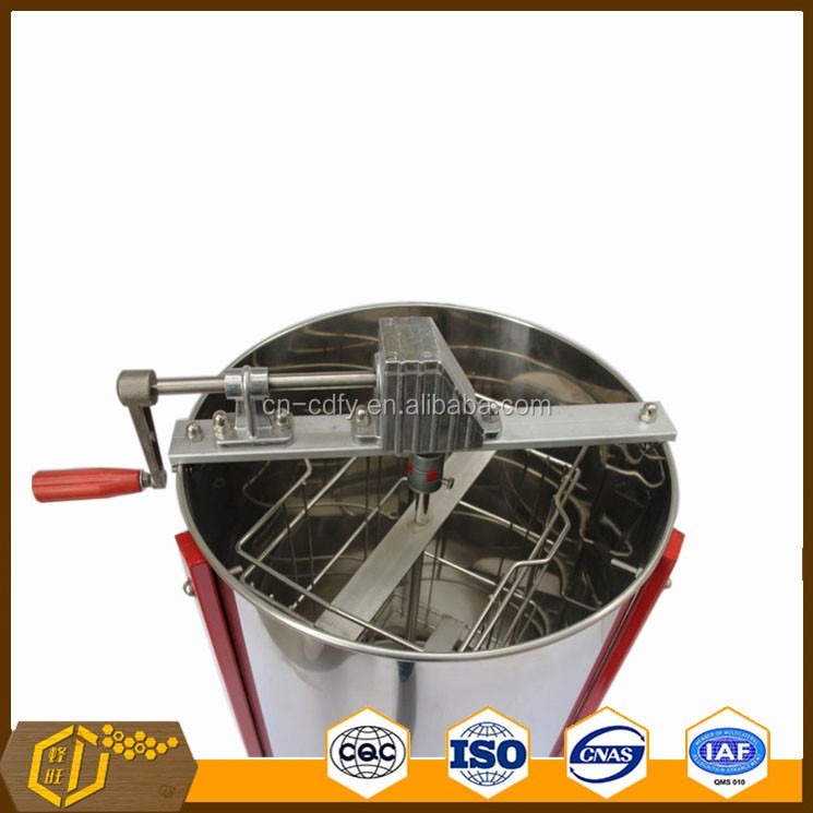 2016 New Design 2 frames Stainless Steel Manual Preventing Scratches Honey Extractor
