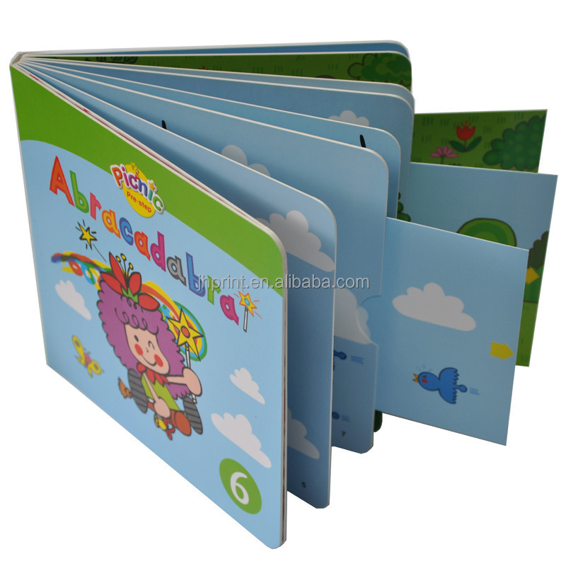 professional new design my hot book children hardcover pop up book printer