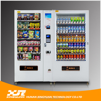Beverage and Milk conbination vending machine with led screen