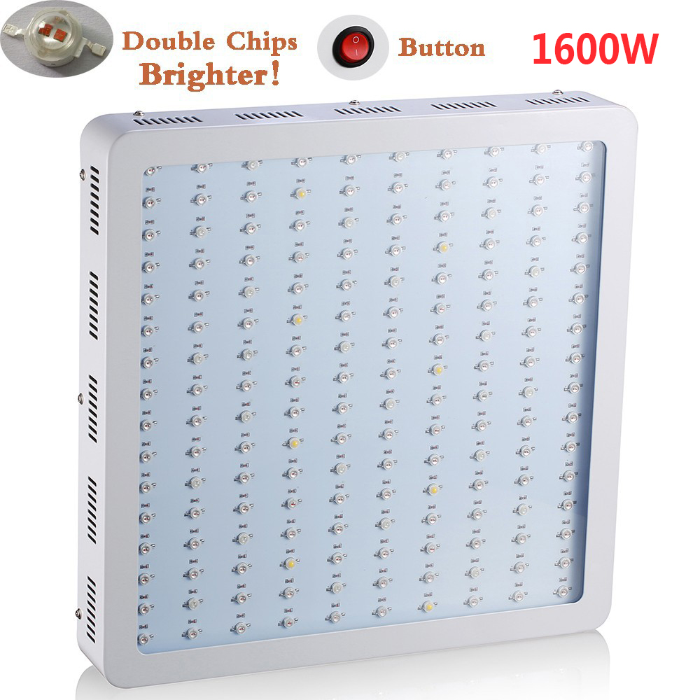 cheap double chips 1600W led light high power full spectrum hydroponic cultivation led plant grow light