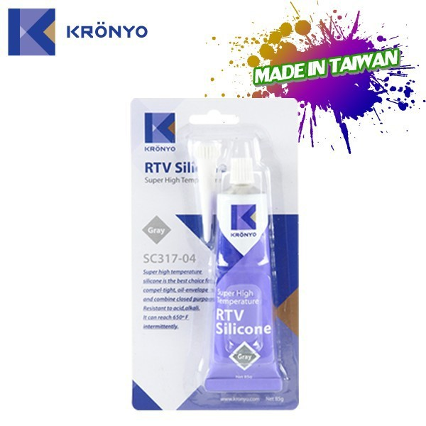KRONYO rtv mould making rubber silicone grease suppliers silicone rtv