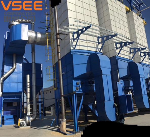 Rice Dryer and Paddy Dryer serving hign-end customer group and Color Sorter machine for grain process