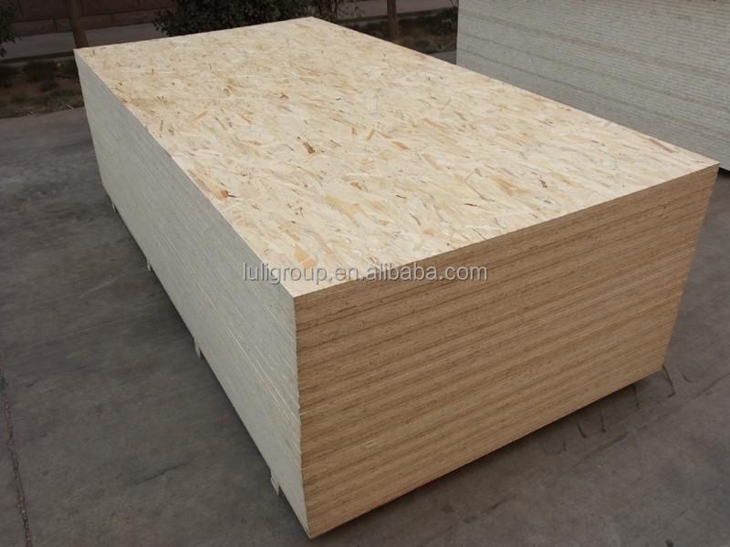 Melamina tablero osb para la construcci n de muebles con precio barato tablero aglomerado - Precio tablero osb ...