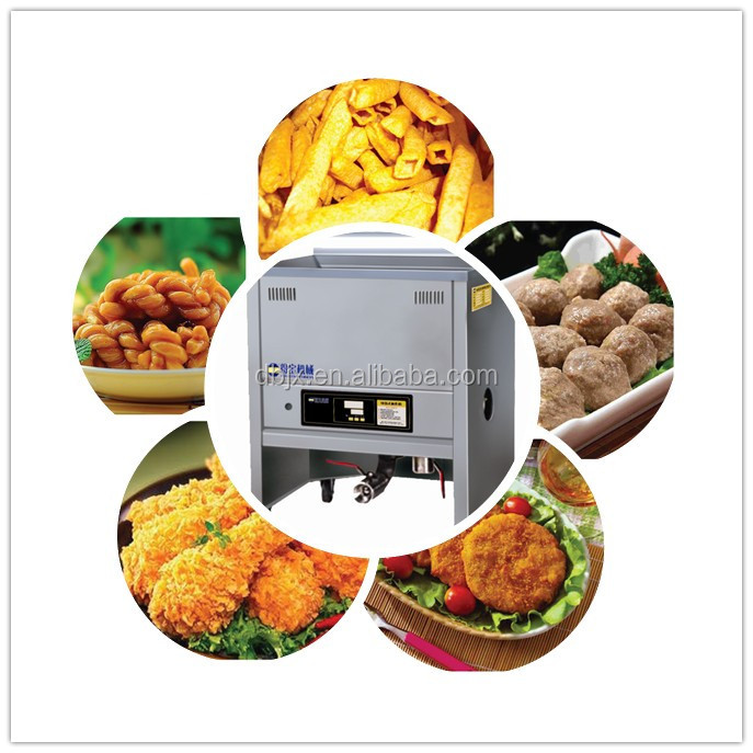 DBD10 electric oil water deep fryer