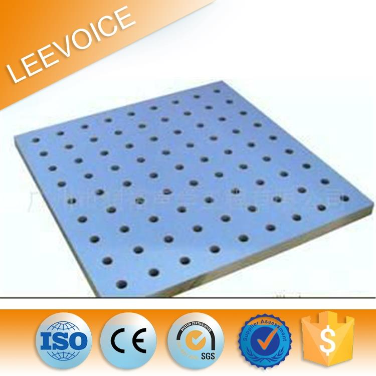 16/16/8mm Sound Insulation Perforated Acoustic Panel with FR MDF