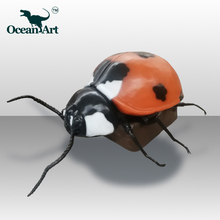 OA25806Animatronic ladybug Insects For Sale Movement Insect