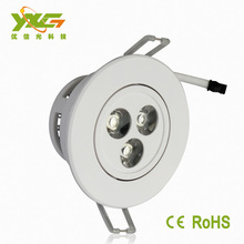 china supplier energy conservation led puck light 110v led ceiling light ce rohs proved